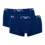 Emporio Armani boxershorts 2-pack blauw L