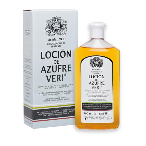 Azufre Veri Hair Lotion 400 ml