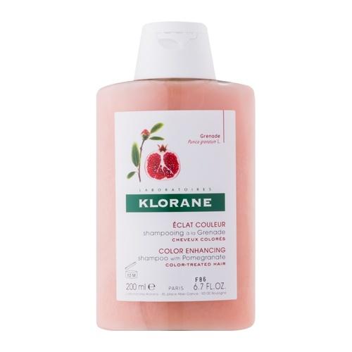 Klorane color radiance shampoo with pomergranate 200 ml