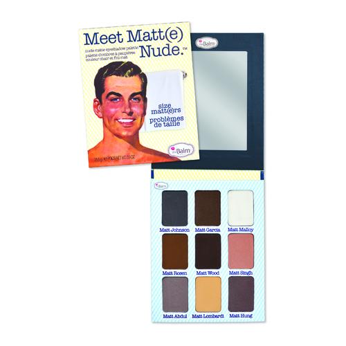 The Balm Meet Matt(e) Nude eyeshadow 25,50