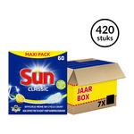 Sun Classic Citroen vaatwastabletten jaarbox (420)