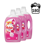 Robijn Pink Sensation vloeibaar wasmiddel 3 x 3 liter