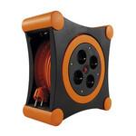 REV kabelbox X-Tra 12,5 m oranje zwart