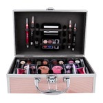 Make-up set roze koffer 42-delig