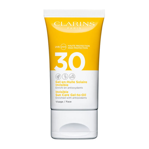 Clarins Invisible Sun Care Gel-to-Oil Face SPF30 SPF 30