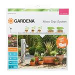 Gardena Micro-Drip start set M automatic bloempotten