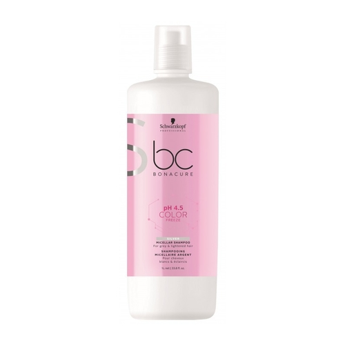 Schwarzkopf BC Color Freeze pH 4.5 Silver shampoo 1.000 ml