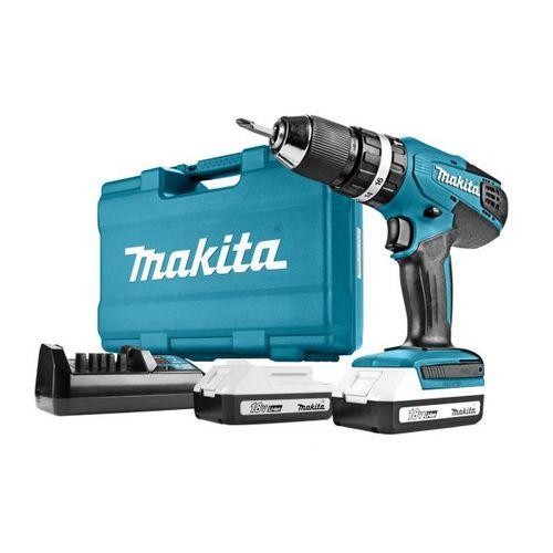 Makita HP457DWE accu-klopboor-/schroefmachine