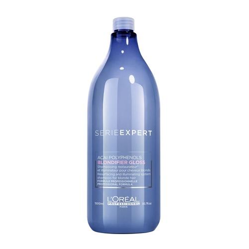 L'Oreal Serie Expert Blondifier Gloss Shampoo 1.500 ml