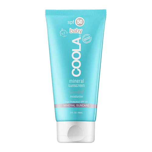 Coola Baby Mineral Sunscreen Unscented Moisturizer SPF 50