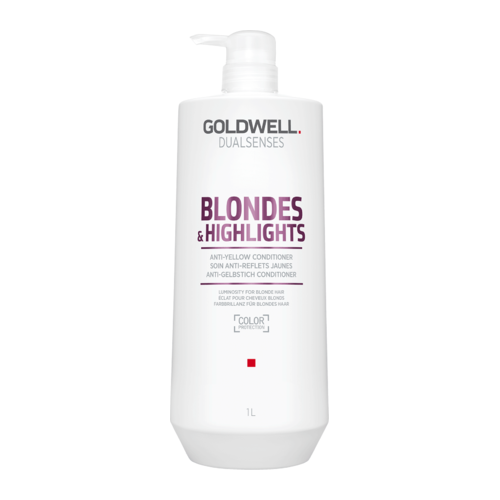 Goldwell Dualsenses Blondes & Highlights Anti-yellow Conditioner 1.000 ml