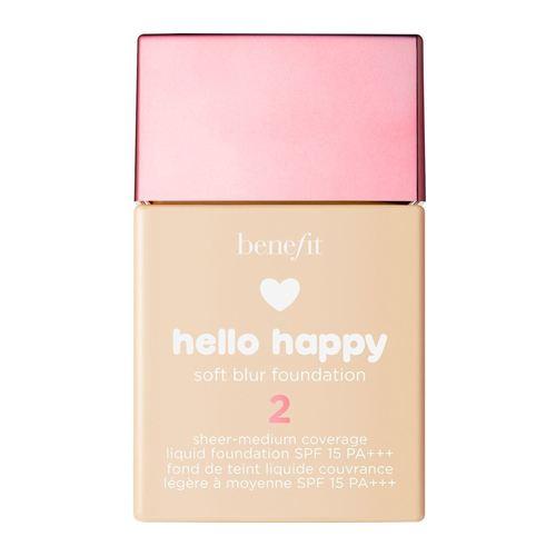 Benefit Hello Happy Soft Blur Foundation 02 Light - Warm 30 ml