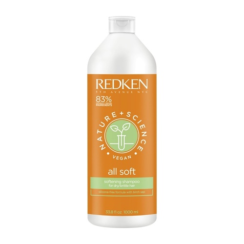 Redken Nature + Science All Soft Shampoo 1.000 ml