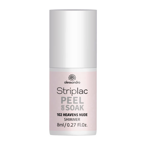 Alessandro Striplac Peel Or Soak 102 Heavens Nude 8 ml