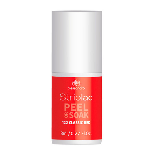 Alessandro Striplac Peel Or Soak 122 Classic Red 8 ml