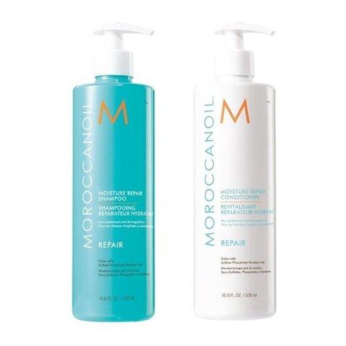 Moroccanoil Moisture Repair Shampoo en Conditioner Set