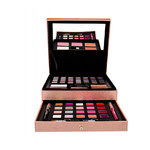Schminkkoffer Beauty Box Treasure Rosegold Set 60-delig