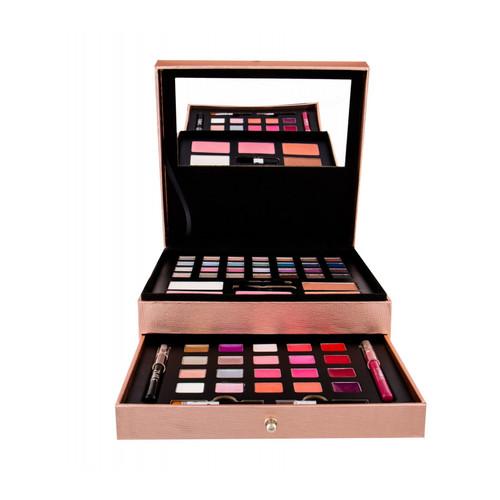 Make-up koffer Beauty Box Treasure Rosegold Set 60- pièces