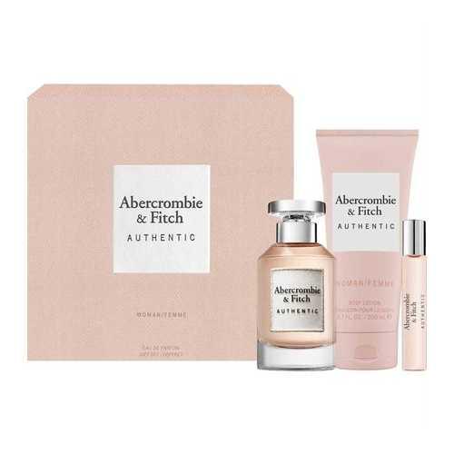 Abercrombie & Fitch Authentic Woman Geschenkset