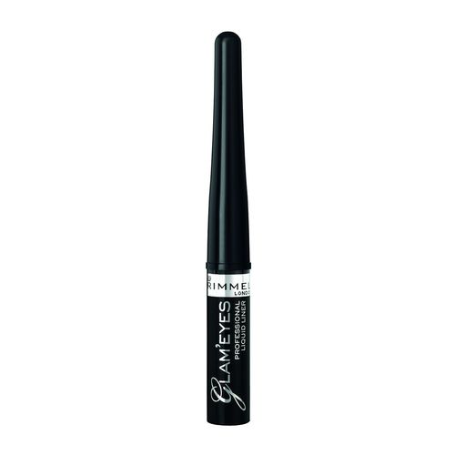 Rimmel Glam'Eyes Professional Liquid Eyeliner 001 Black