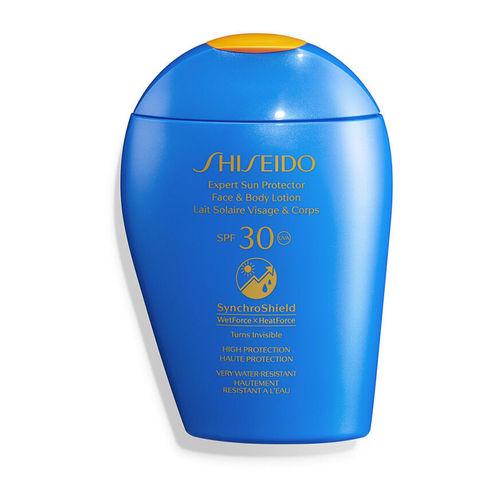 Shiseido Expert Sun Protector Face & Body Lotion SynchroShield SPF 30