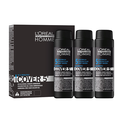 L'Oreal Professional Homme Cover 5 Set