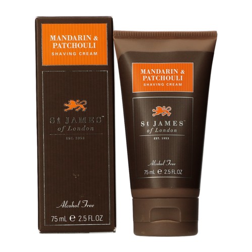 St James of London Mandarin & Patchouli Shaving Cream