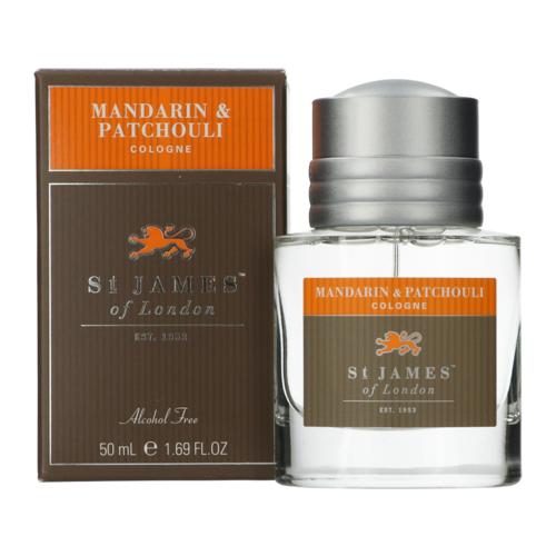 St James of London Mandarin & Patchouli Eau de cologne 50 ml