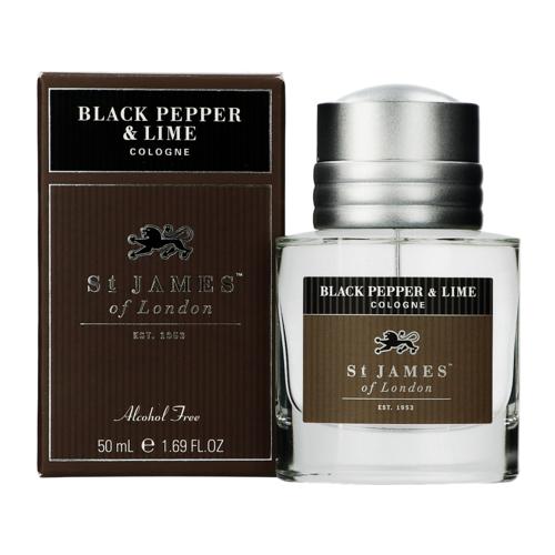 St James of London Black Pepper & Lime Eau de cologne 50 ml