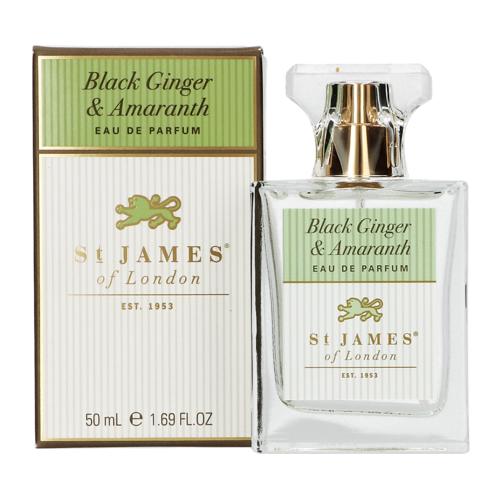 St James of London Black Ginger & Amaranth Eau de parfum 50 ml