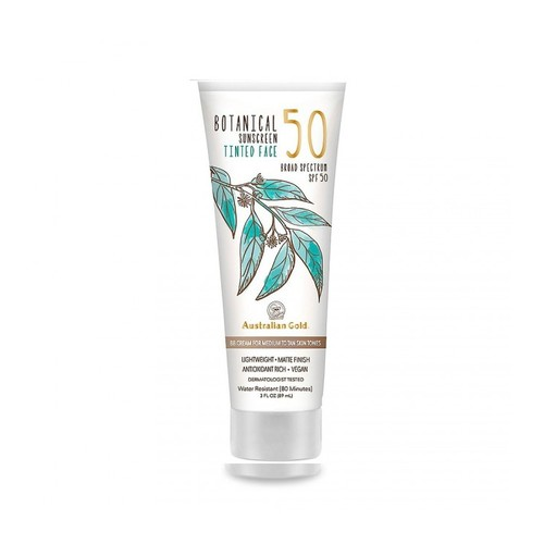 Australian Gold Botanical Tinted Face Lotion SPF 50