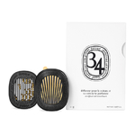 Diptyque Car Diffuser With 34 Boulevard Insert