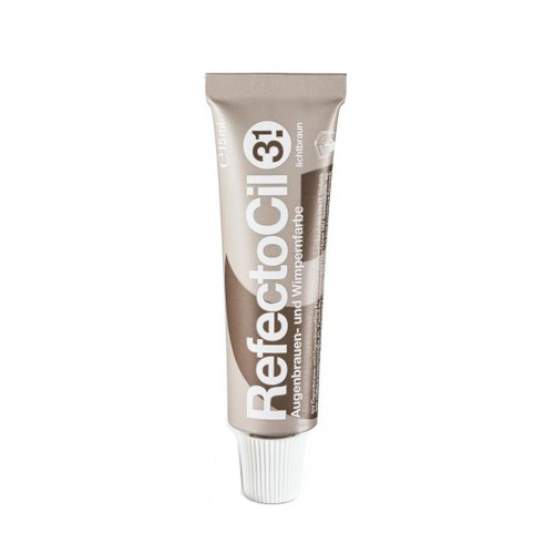 RefectoCil Wimpern- und Augenbrauenfarbe 3.1 Light Brown 15 ml
