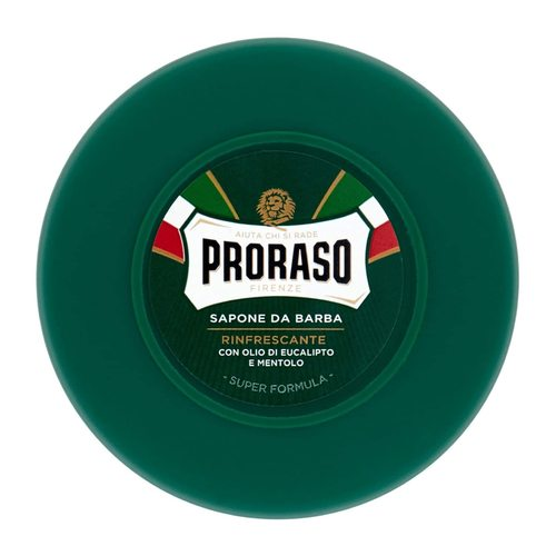 Proraso Green Line Shaving Soap in a Jar