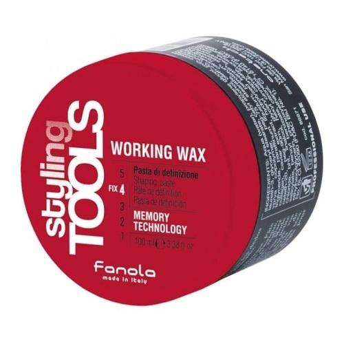 Fanola Styling Tools Working Wax 100 ml