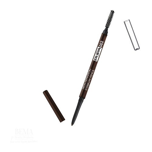 Pupa High Definition Eyebrow Pencil 002 Brown 0,9 Gramm