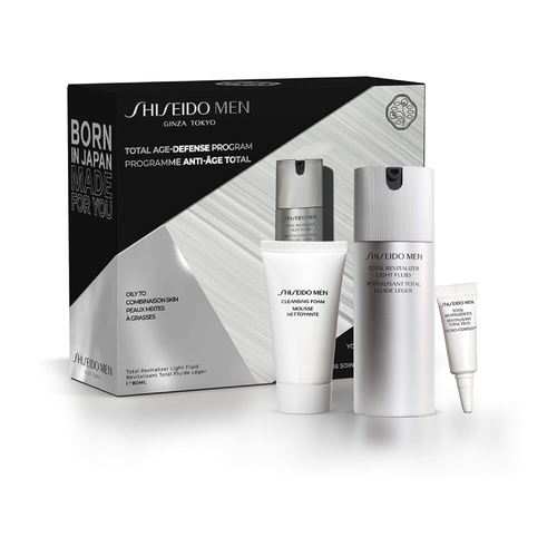 Shiseido Shiseido Men Total Age-Defence Program Set