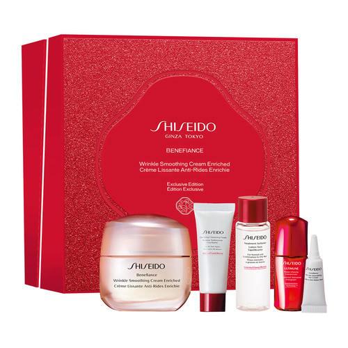 Shiseido Benefiance Wrinkle Soothing Cream Enriched set
