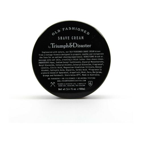 Triumph & Disaster Old Fashioned Shave Cream Jar